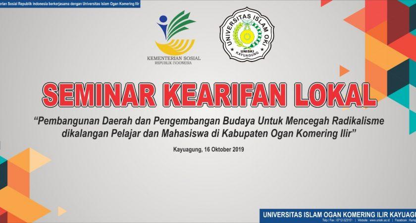 Seminar Kearifan Lokal